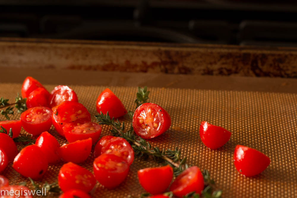 happy cherry tomatoes