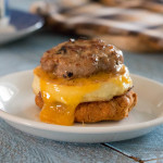 Sausage, Egg, and Cheese Breakfast Sandwich, www.megiswell.com