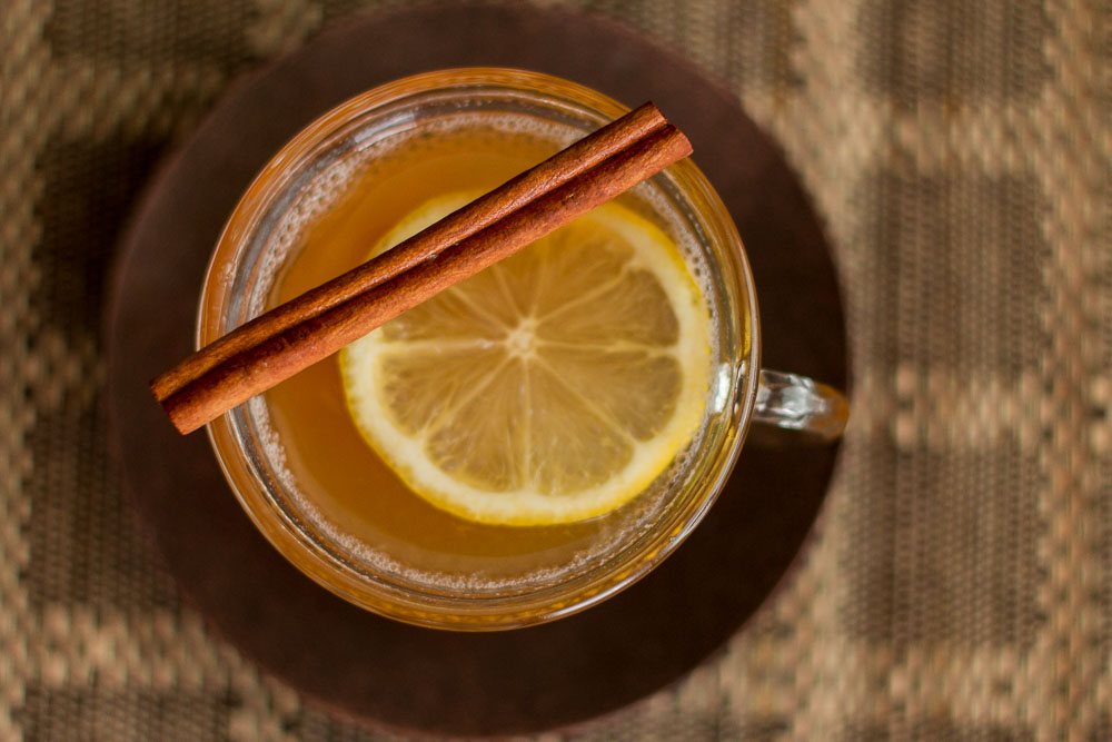 how to make a hot ginger drink