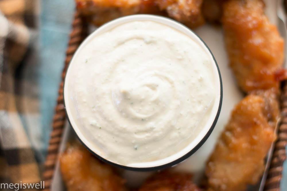 ranch-onion dip