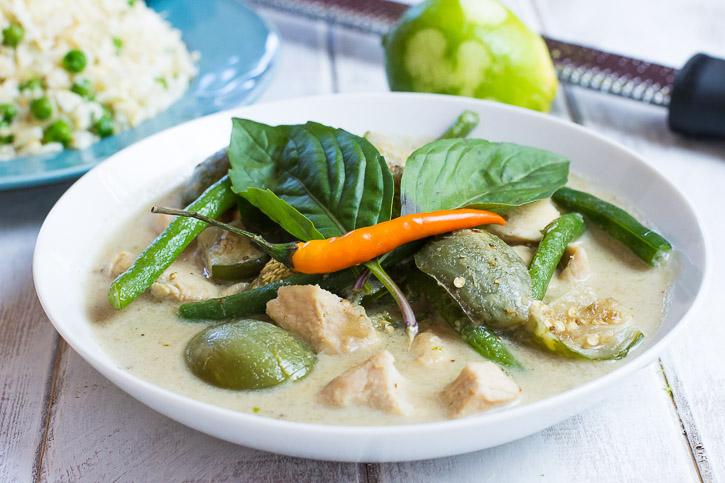 Cauliflower Rice Thai Version