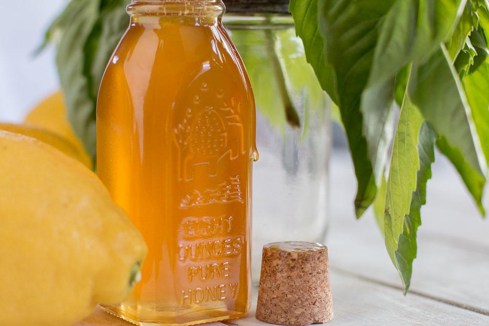 Basil-Gin Lemonade - Meg is Well