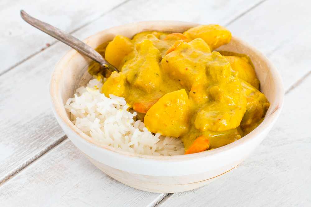 Thai Yellow Curry with Chicken - Meg is Well