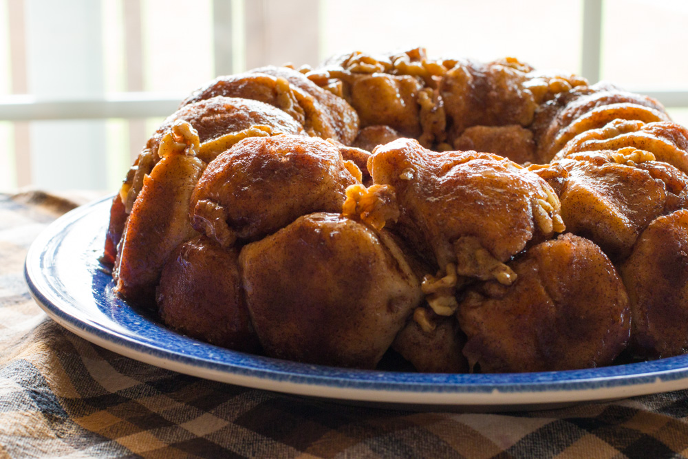 Cranberry and Cream Cheese Monkey Bread   www.megiswell.com