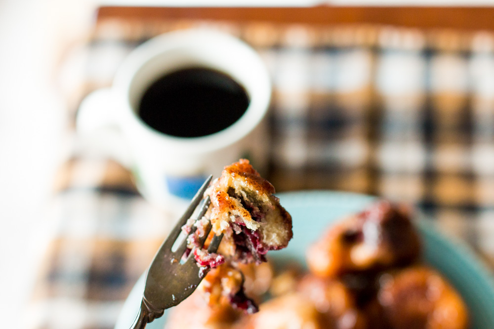 Cranberry and Cream Cheese Monkey Bread | www.megiswell.com