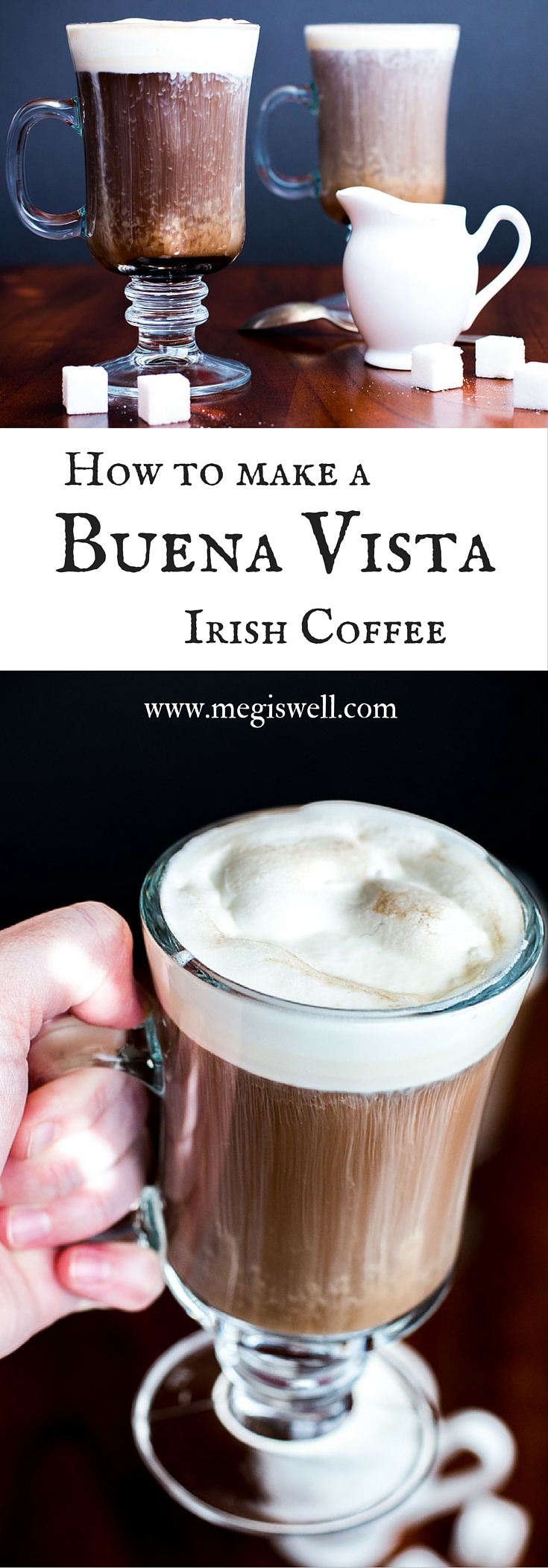 Make the famous Buena Vista Irish Coffees from the comfort of your own home!