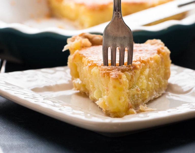Sweet Tea Lemon Chess Pie Recipe — Dishmaps