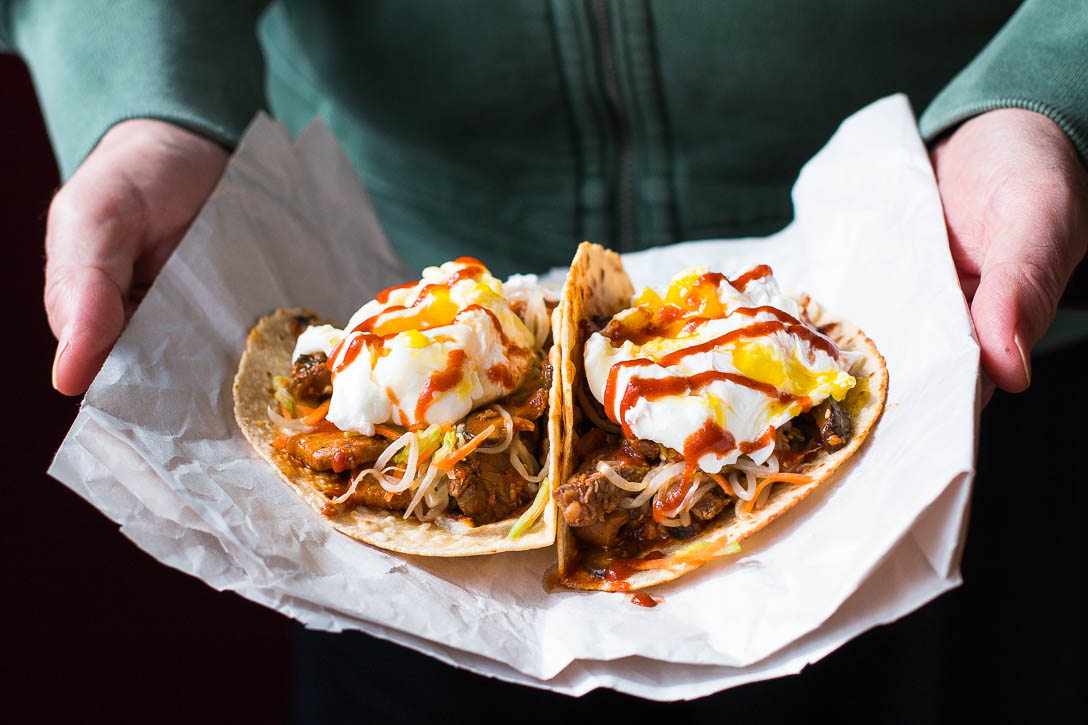 Kimchi Jjigae Tacos