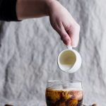 Gingersnap syrup, infused with all the spices of the cookie, gives this Gingersnap White Russian an amazing holiday twist. | www.megiswell.com