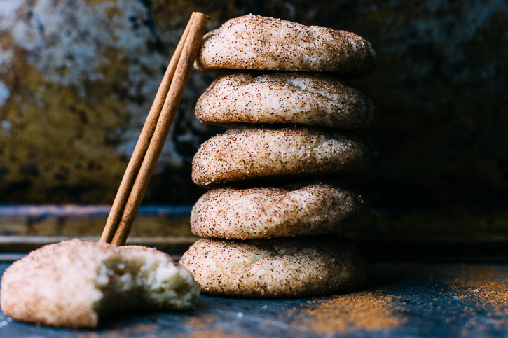 This Snickerdoodle Cookie recipe is classic, simple, and easy. Sometimes you just can't beat cinnamon and sugar. | www.megiswell.com