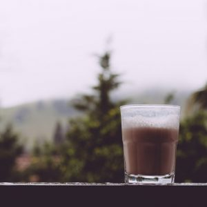 This Rosehip Chamomile Tea Latte is a floral and herbal twist on the London Fog. It's meant to soothe and calm the body and mind, making it perfect for dreary weather snuggle time!   www.megiswell.com