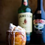 This Boozy Irish Coffee Milkshake with Baileys Caramel Drizzle is based off an Irish Coffee. Vanilla ice cream, espresso, and Jameson whiskey creates that Irish Coffee taste while Baileys caramel sauce and whipped cream enhance the flavor and increase the wow factor.   www.megiswell.com