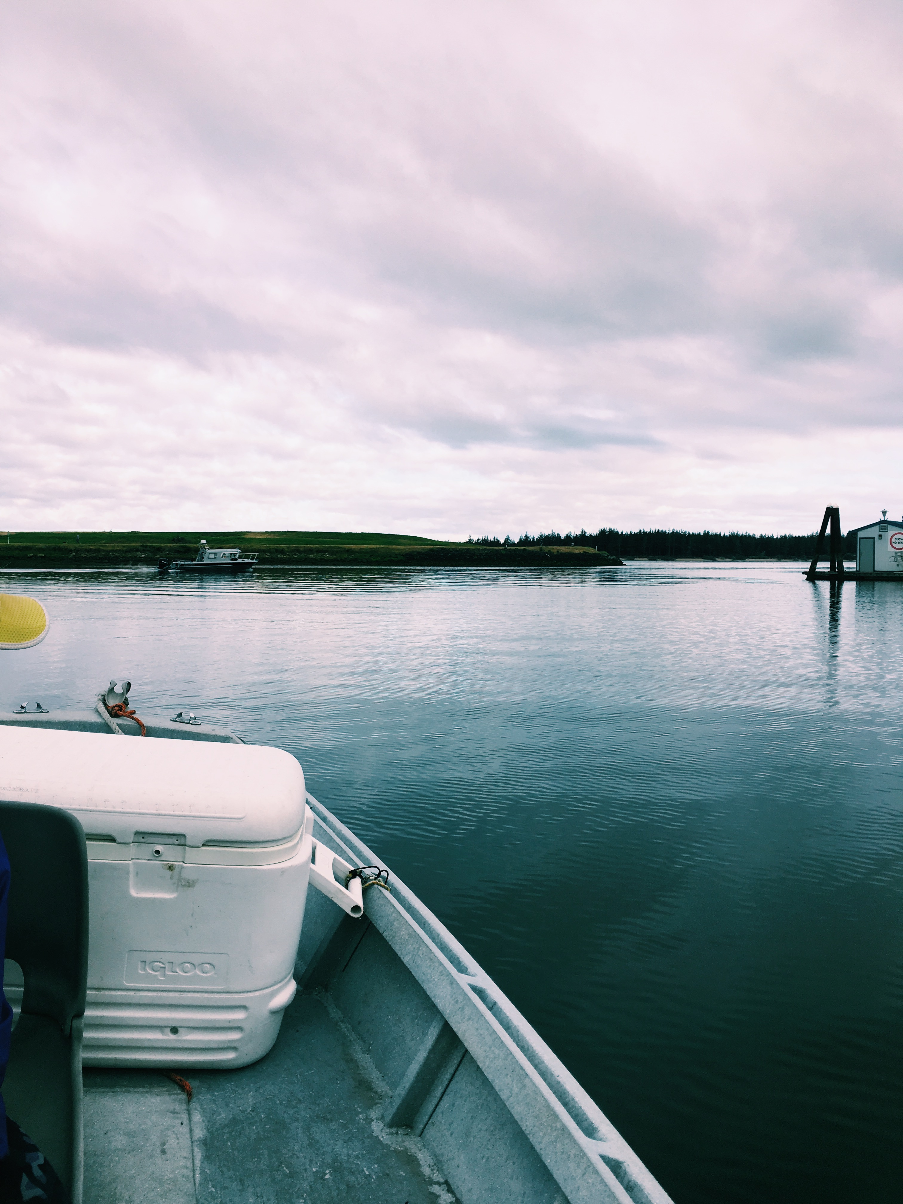 Starting a day of crabbing | Winchester Bay, Oregon