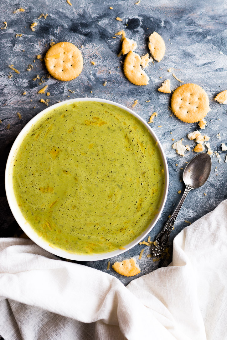 Turn Leftover Cheese Sauce Into A Quick And Easy 5 Ingredient Blender Broccoli Soup