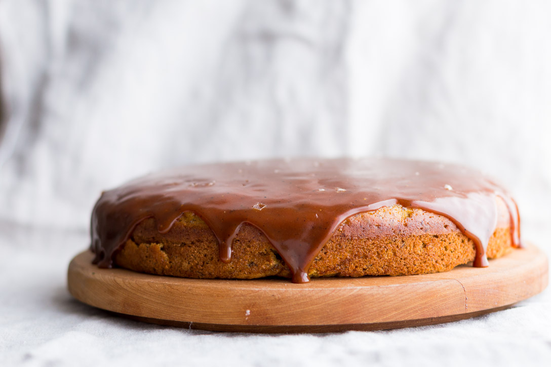 Pumpkin Layer Cake with Brown Butter Salted Caramel ...