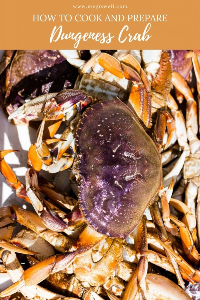 Learn how to prepare Dungeness crab + Video. | How to Cook | How to Clean | How to Boil | How to Cook Whole | How to Eat | Seafood | Shellfish | Oregon | Fish & Wildlife | Ocean Life | #dungenesscrab | www.megiswell.com
